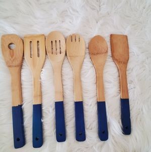 Other - Bundle set of wooden cooking spoons